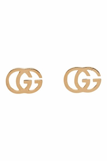 Gucci Gucci Gold GG Tissue Stud Earrings Image 0