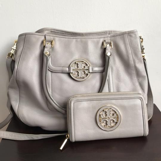 Tory Burch Satchel in Gray Image 3