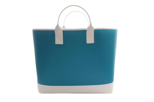 Michael Kors Collection Tote in turquoise Image 2
