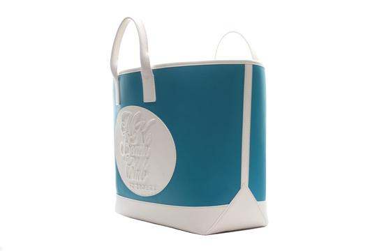 Michael Kors Collection Tote in turquoise Image 5