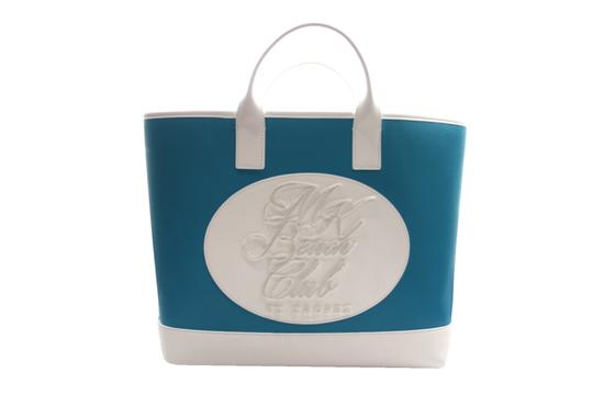 Michael Kors Collection Tote in turquoise Image 9