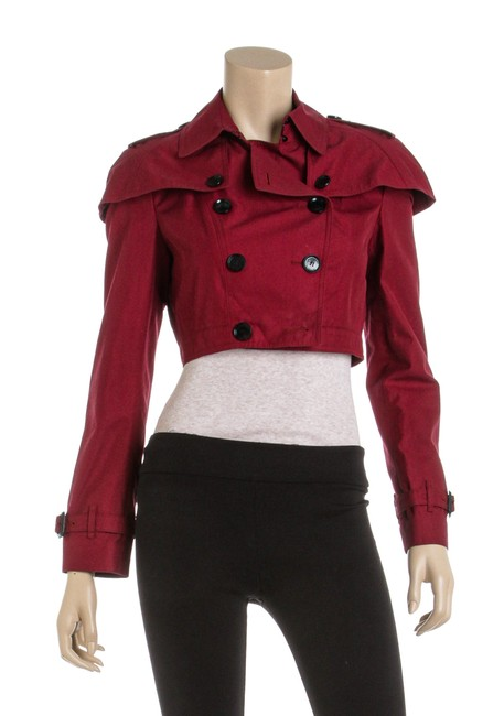 Preload https://img-static.tradesy.com/item/26214198/burberry-red-cotton-long-sleeve-cropped-493991-coat-size-6-s-0-0-650-650.jpg