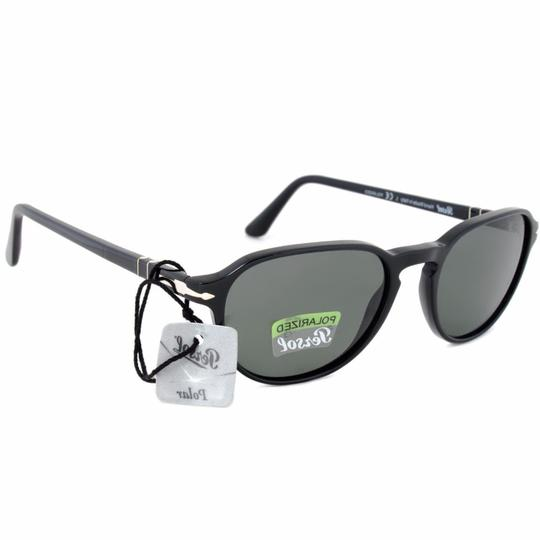 Persol Grey Lens Unisex Oval Sunglasses Image 1