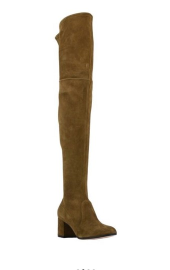Gianvito Rossi olive green Boots Image 1