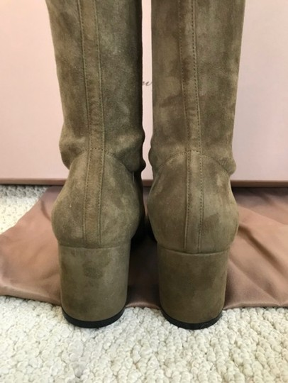 Gianvito Rossi olive green Boots Image 5