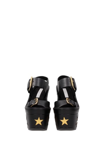 Stella McCartney Black Sandals Image 2