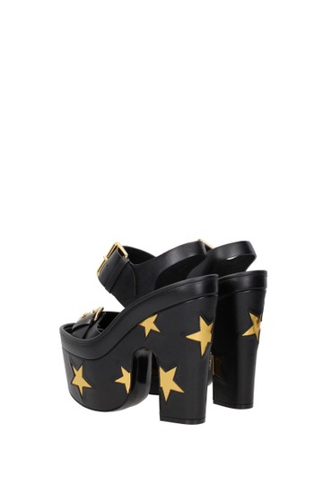 Stella McCartney Black Sandals Image 3