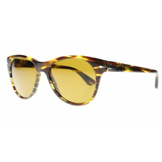 Preload https://img-static.tradesy.com/item/26214266/persol-striped-brown-frame-and-lens-unisex-square-sunglasses-0-0-540-540.jpg