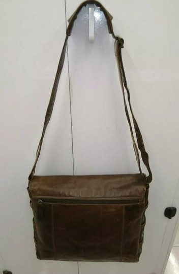 Baccini Brown Messenger Bag Image 1