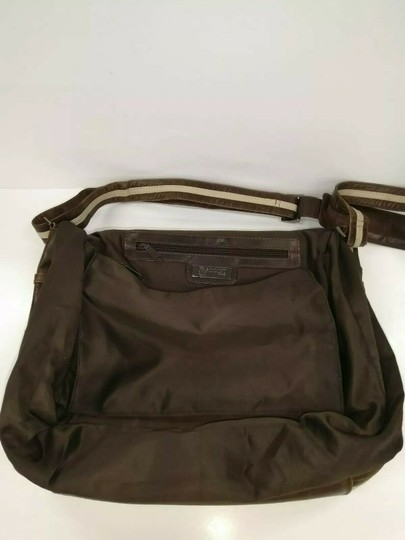 Baccini Brown Messenger Bag Image 10