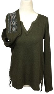 Anthropologie T Shirt Army Green