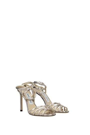 Jimmy Choo Pink Sandals Image 1