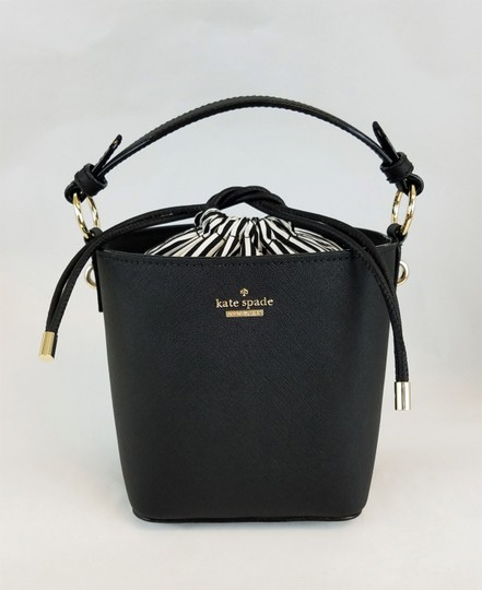 Kate Spade Ships In 24 Hours Bucket Ks Cameron Street Ks Pippa Crosshatch Leather Cross Body Bag Image 4