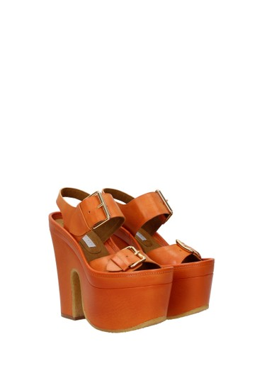 Stella McCartney Orange Sandals Image 1