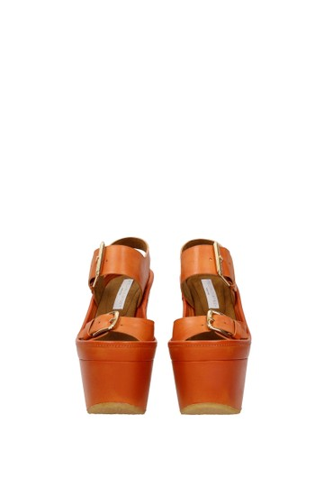 Stella McCartney Orange Sandals Image 2