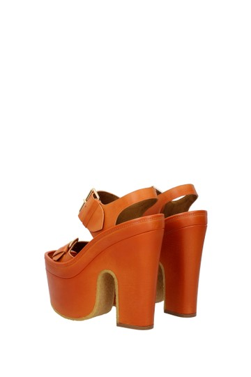 Stella McCartney Orange Sandals Image 3