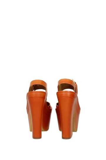 Stella McCartney Orange Sandals Image 4