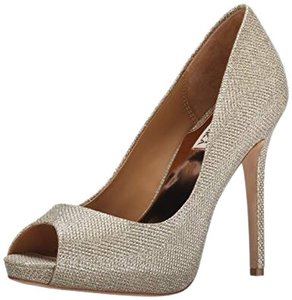 Badgley Mischka Gold/Silver (Platino) Platforms