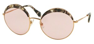 Miu Miu Vintage New Condition Large Round SPS 51Q DHE410 Free 3 Day Shipping