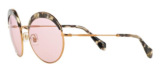 Miu Miu Vintage New Condition Large Round SPS 51Q DHE410 Free 3 Day Shipping Image 10