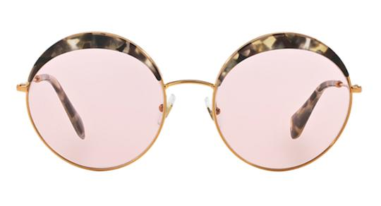 Miu Miu Vintage New Condition Large Round SPS 51Q DHE410 Free 3 Day Shipping Image 11
