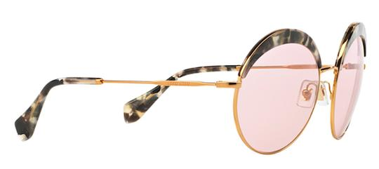 Miu Miu Vintage New Condition Large Round SPS 51Q DHE410 Free 3 Day Shipping Image 3