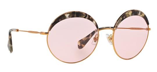 Miu Miu Vintage New Condition Large Round SPS 51Q DHE410 Free 3 Day Shipping Image 8
