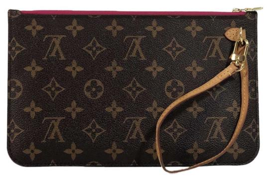 Preload https://img-static.tradesy.com/item/26214450/louis-vuitton-neverfull-mm-pouch-only-with-cerise-interior-brown-monogram-canvas-wristlet-0-0-540-540.jpg