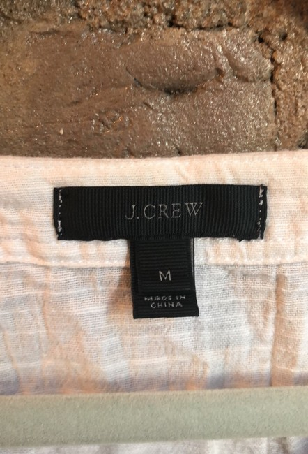 J.Crew Embroidered cover up with tassels Image 5
