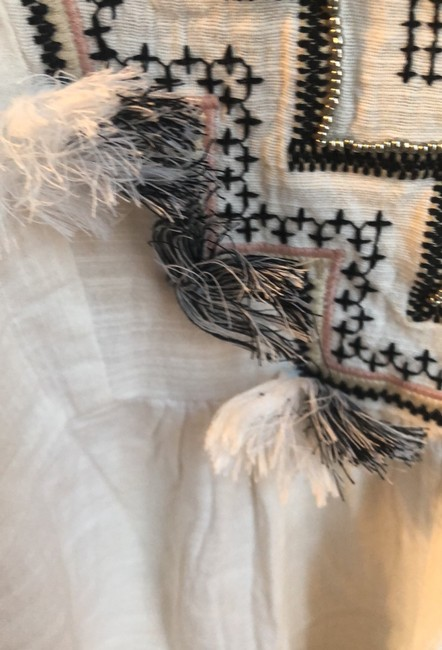 J.Crew Embroidered cover up with tassels Image 6