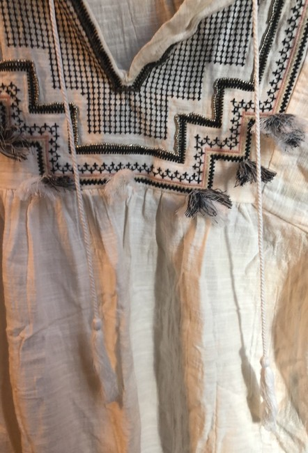 J.Crew Embroidered cover up with tassels Image 9