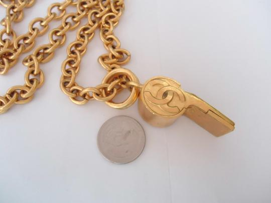 chanel Chanel CC Logos Whistle Pendant Chain Necklace Limited Edition Image 6