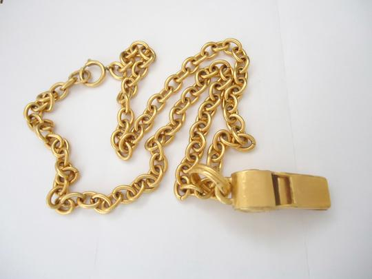 chanel Chanel CC Logos Whistle Pendant Chain Necklace Limited Edition Image 7