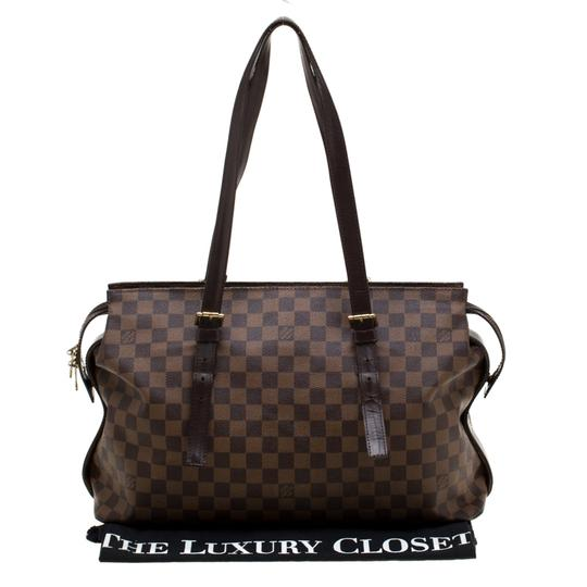 Louis Vuitton Canvas Tote in Brown Image 10