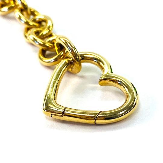 Tiffany & Co. Clasping Heart Charm 18K yellow gold link bracelet Image 1