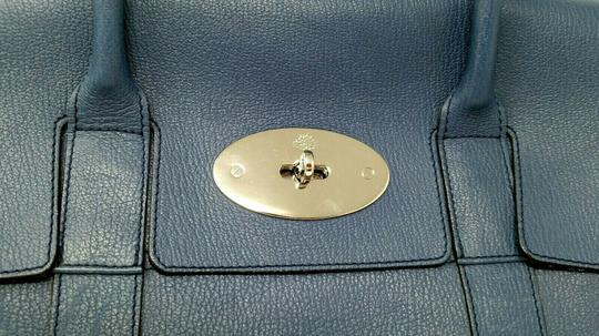 Mulberry Bayswater Leather Large Tote in Dark Blue Image 3