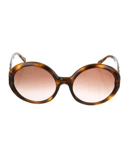 Preload https://img-static.tradesy.com/item/26214579/chanel-brown-quitted-round-sunglasses-0-2-540-540.jpg
