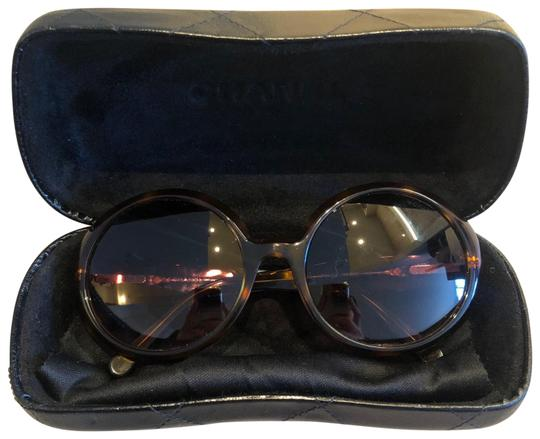 Chanel Quitted Round Sunglasses Image 6