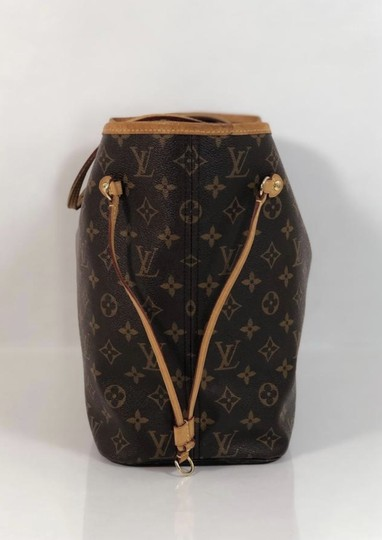 Louis Vuitton Lv Neverfull Neverfull Mm Monogram Shoulder Tote in Brown Image 3