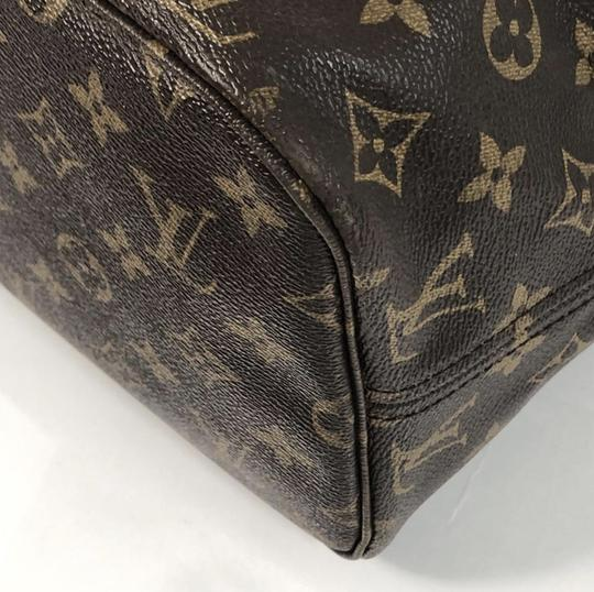 Louis Vuitton Lv Neverfull Neverfull Mm Monogram Shoulder Tote in Brown Image 7