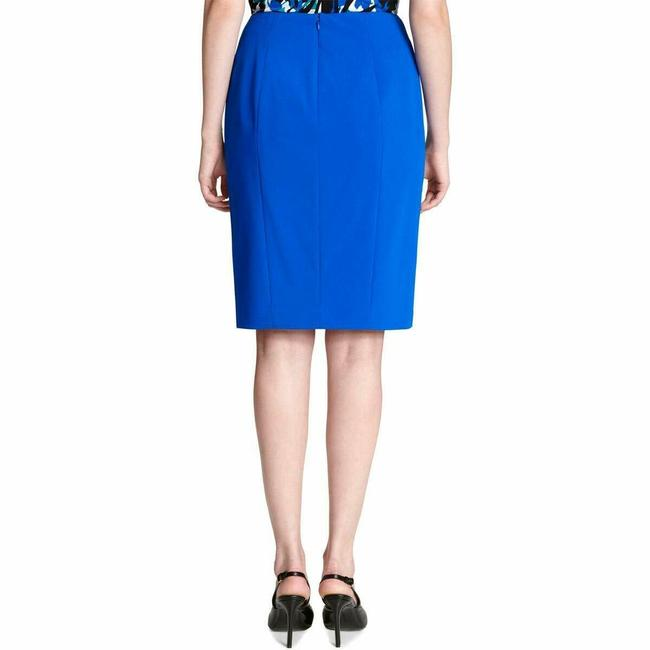 Calvin Klein Pencil Petite Work Skirt Blue Image 1