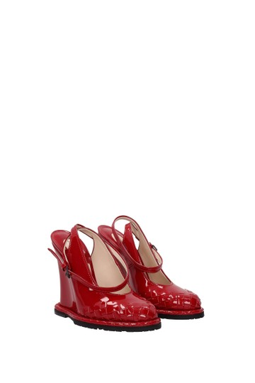 Bottega Veneta Red Sandals Image 1