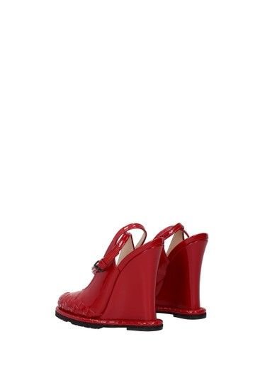 Bottega Veneta Red Sandals Image 3