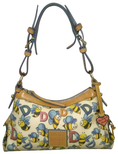 Preload https://img-static.tradesy.com/item/26214626/dooney-and-bourke-bumble-bees-d-supper-cute-small-purse-multicolor-coated-canvas-shoulder-bag-0-2-540-540.jpg