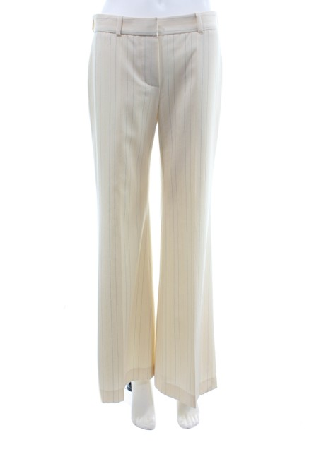 Item - Beige Cream Striped Pants Size 4 (S, 27)