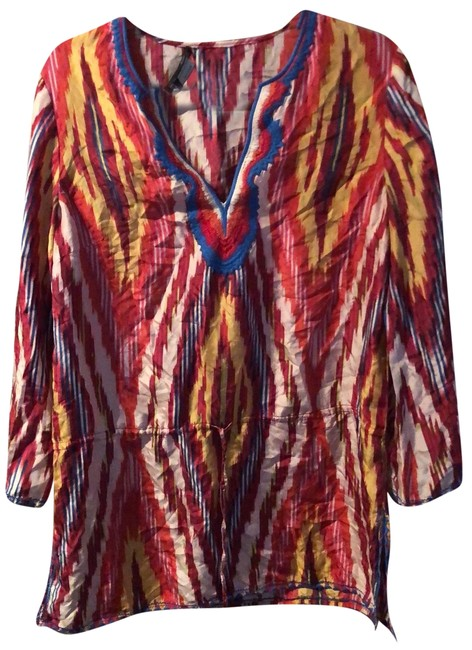 Item - Embroidered Silky Cover-up/Sarong Size 6 (S)