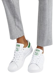 adidas Leather Perforated Rubber White / Green Athletic