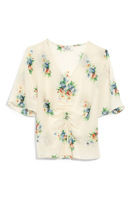 Preload https://img-static.tradesy.com/item/26214740/madewell-ivory-silk-shirred-front-in-classic-corsage-blouse-size-2-xs-0-0-650-650.jpg