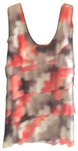 Style &Co, Top orange,brown with sparkle, tan
