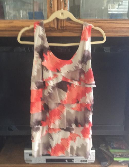 Style &Co, Top orange,brown with sparkle, tan Image 2